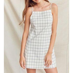 NWT Urban Renewal remade square neck shift dress